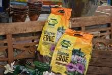 Blumenerde Frux Beete Kübel Naturton Qualität